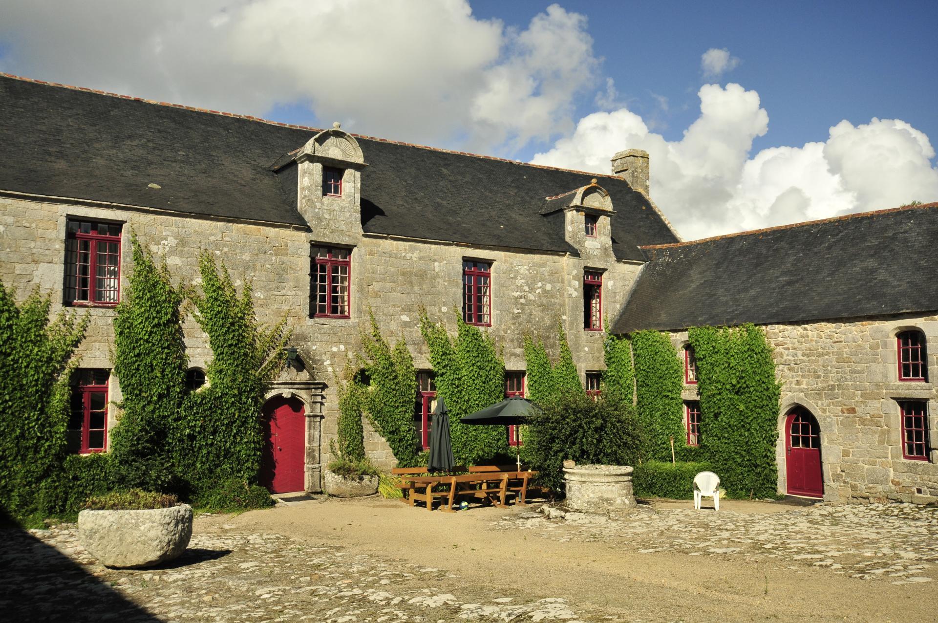 Villa exterior 2, Breton Manor House, Brittany, Audierne.