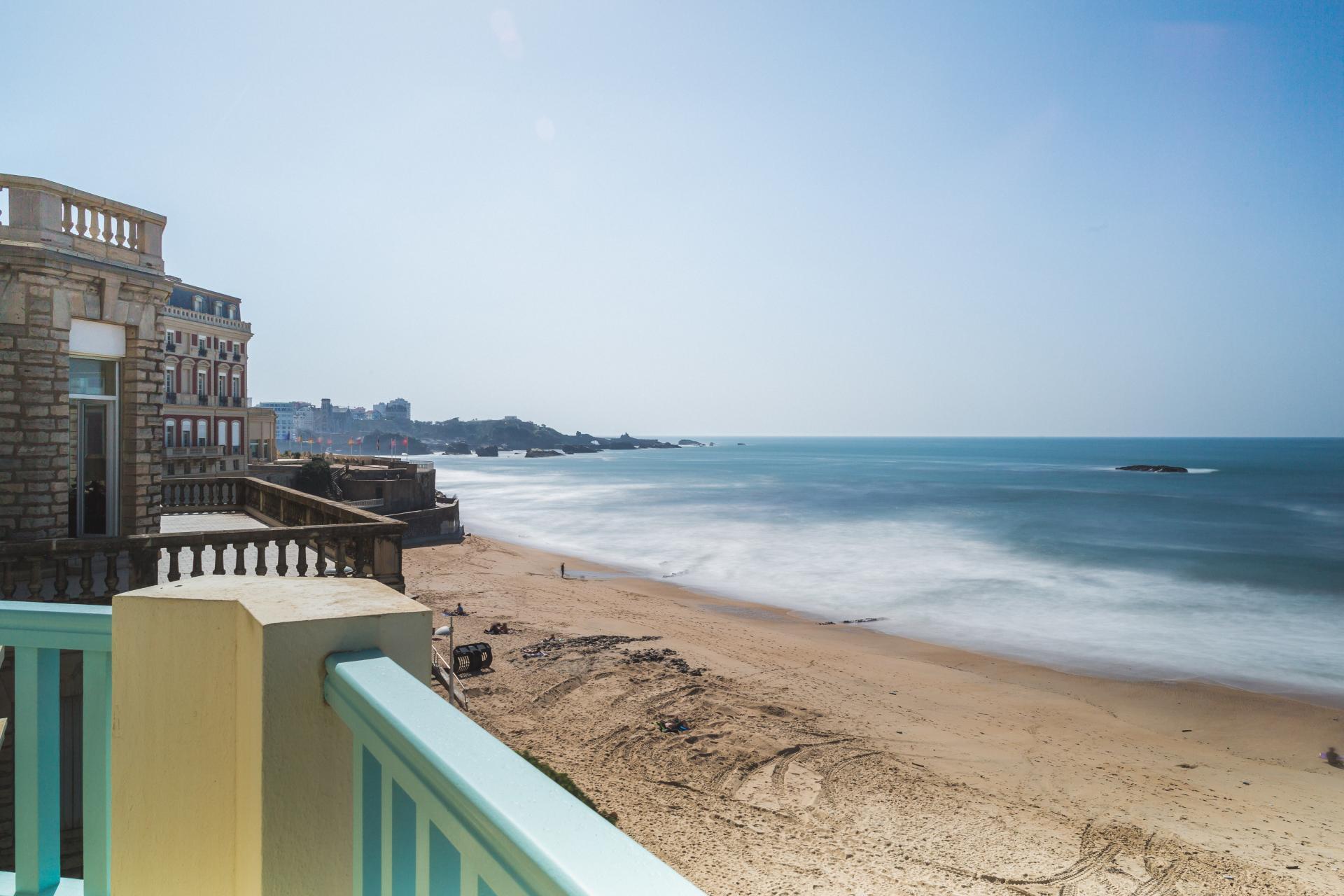 apartment biarritz beach