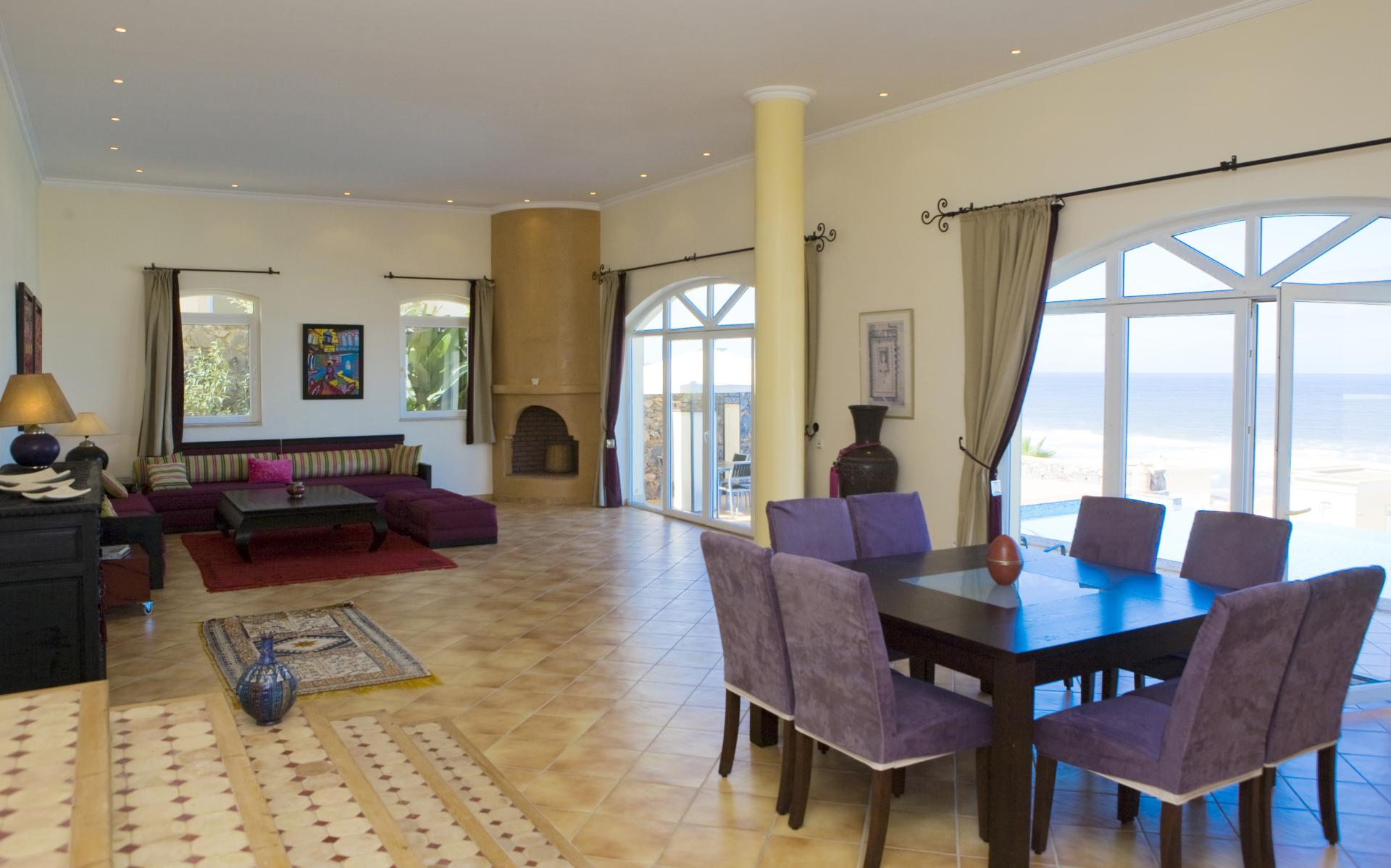 Lounge and Dining Room, Dar Zidana, Agadir, Aglou Plage.