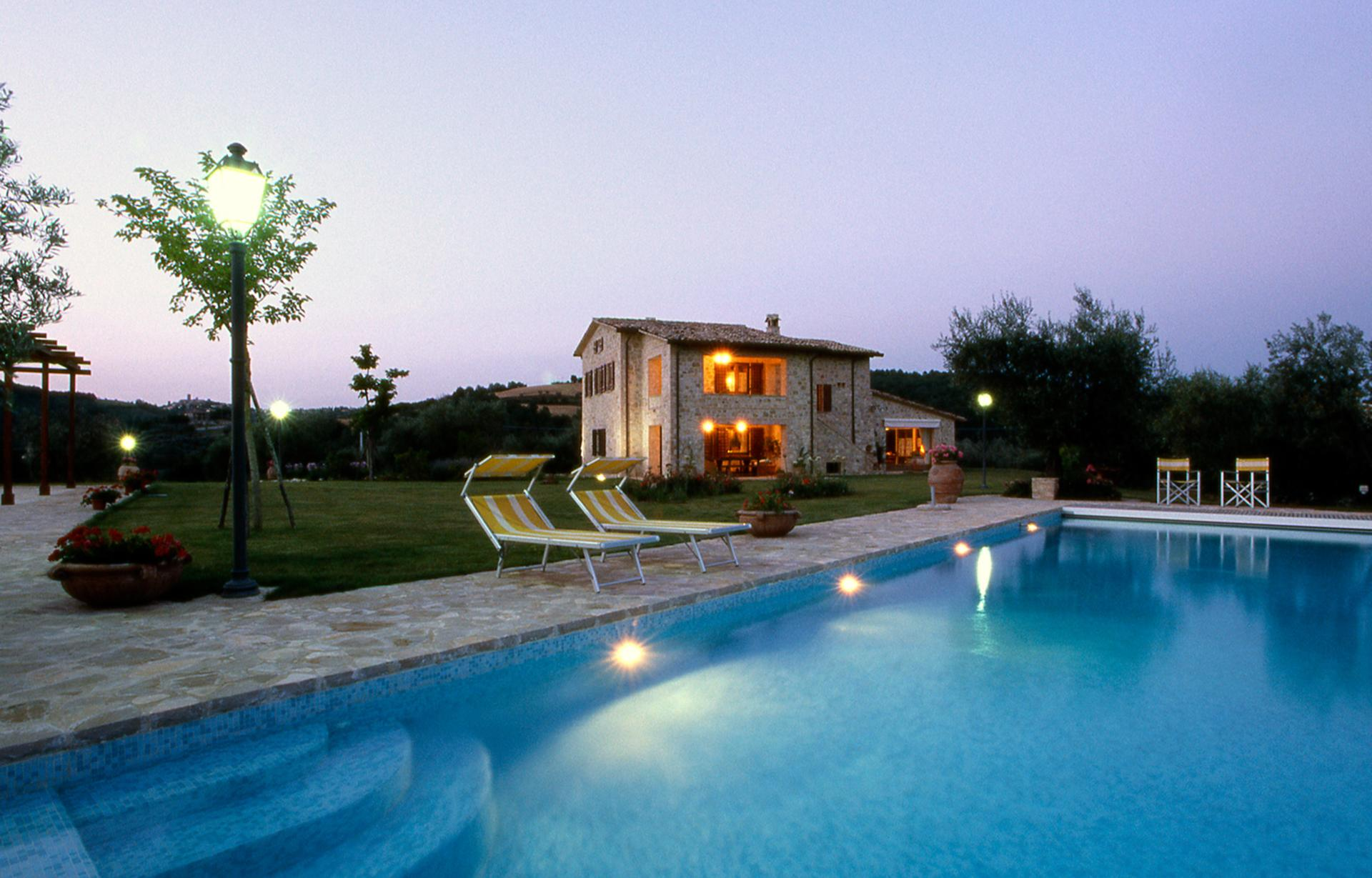 Pool 1, Lampone, Collazzone, Umbria.