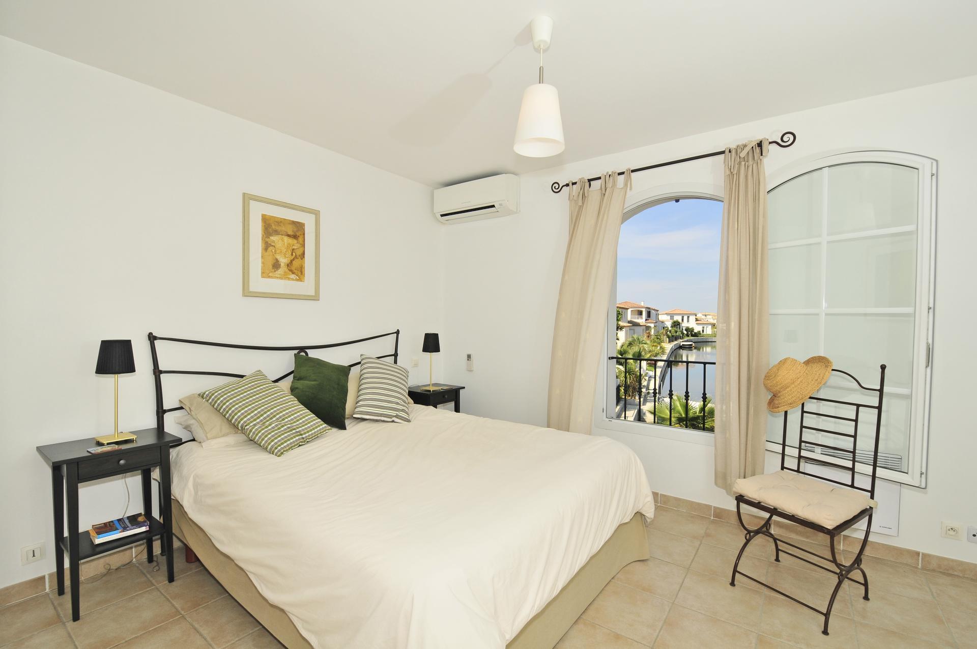 Bedroom 1, La Maison Occitane, Aigues Mortes, Provence.