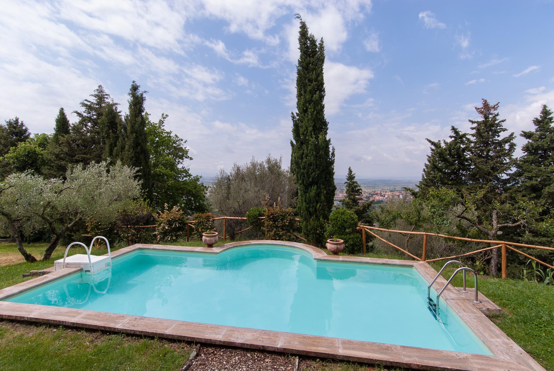 Villa near Cortona
