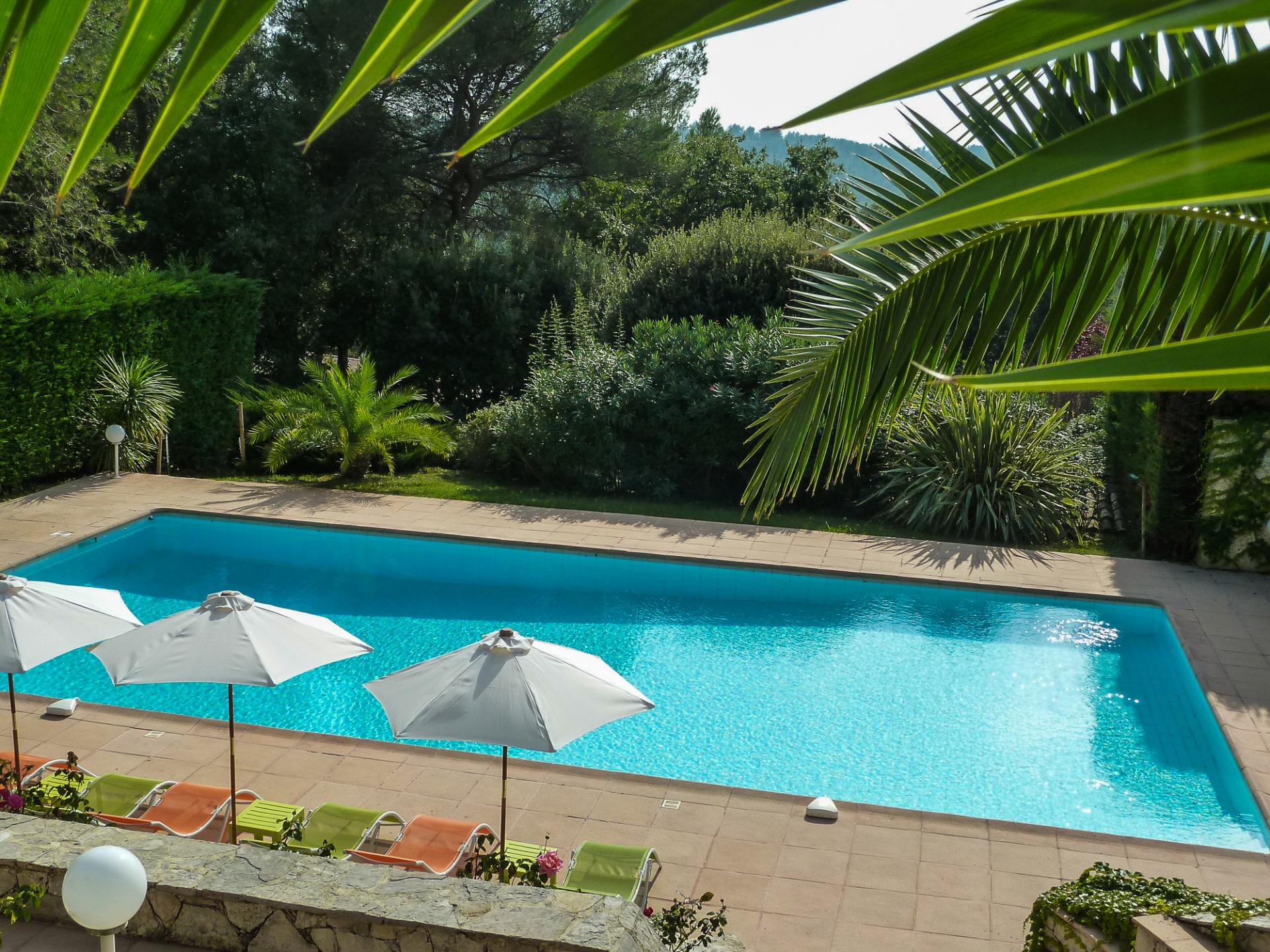 villa in Biot on the cote d'azur