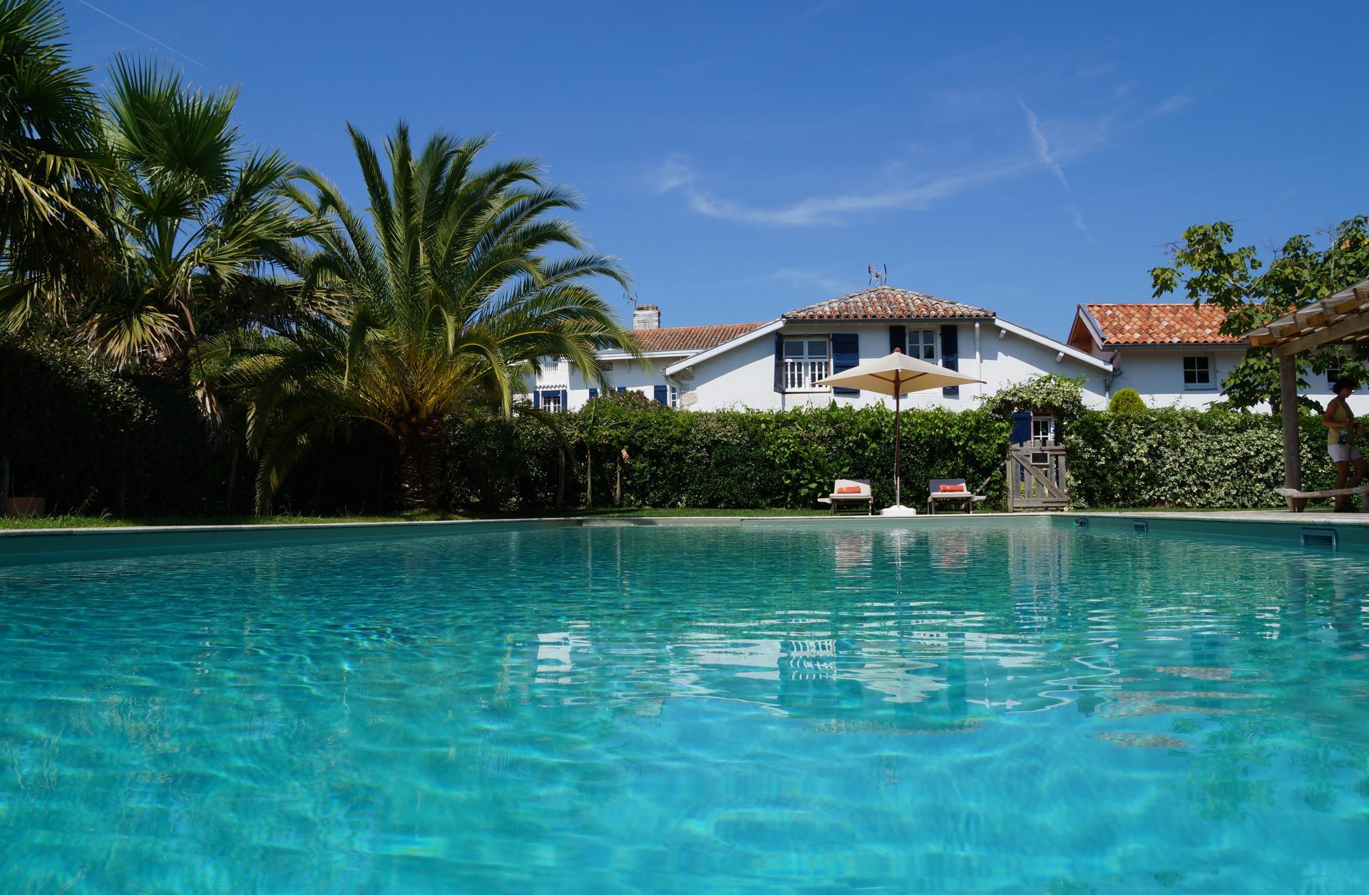 Biarritz vacation villa near beach
