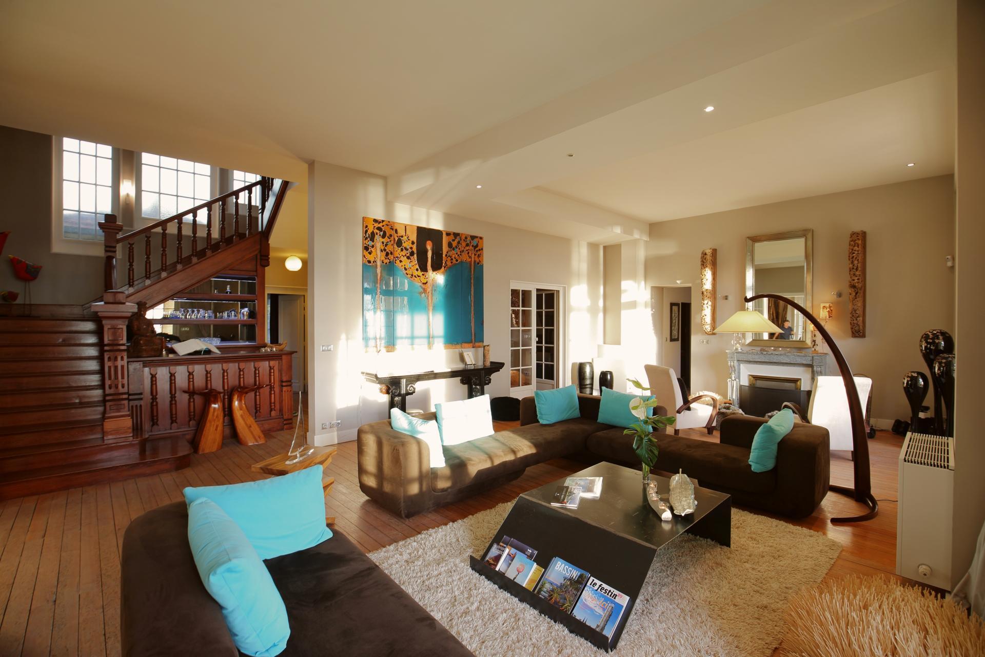 Living Room, La Tour d'Arcachon, nr. Cap Ferret, Bordeaux / Gironde.