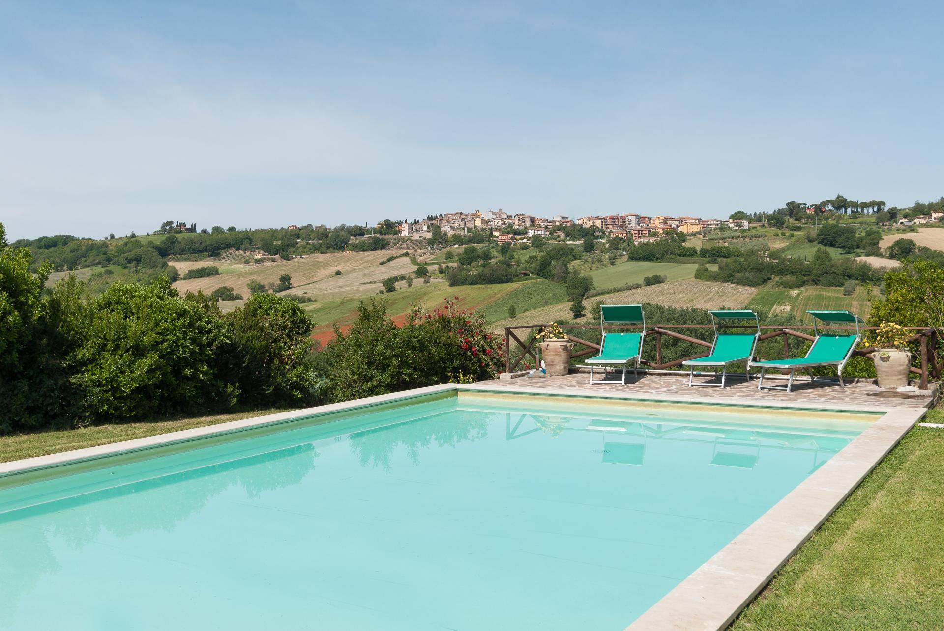 Outdoor Pool 2, Il Girasole, Otricoli, Umbria.