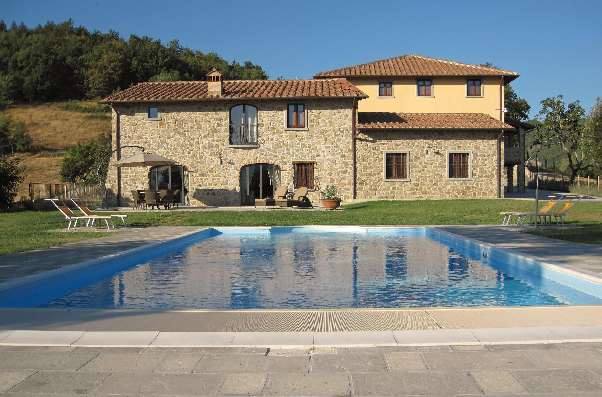 Outdoor Pool 2, Il Casentino, Poppi, Tuscany.