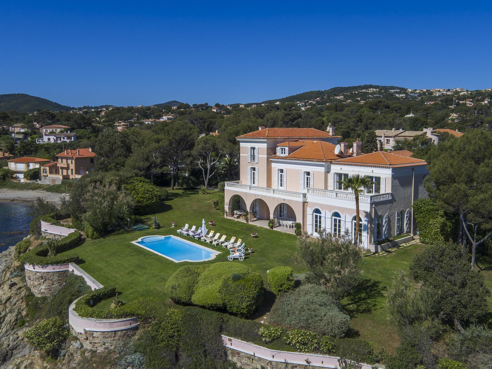 Reve de mer st aygulf st tropez quality villas for Villa de reve