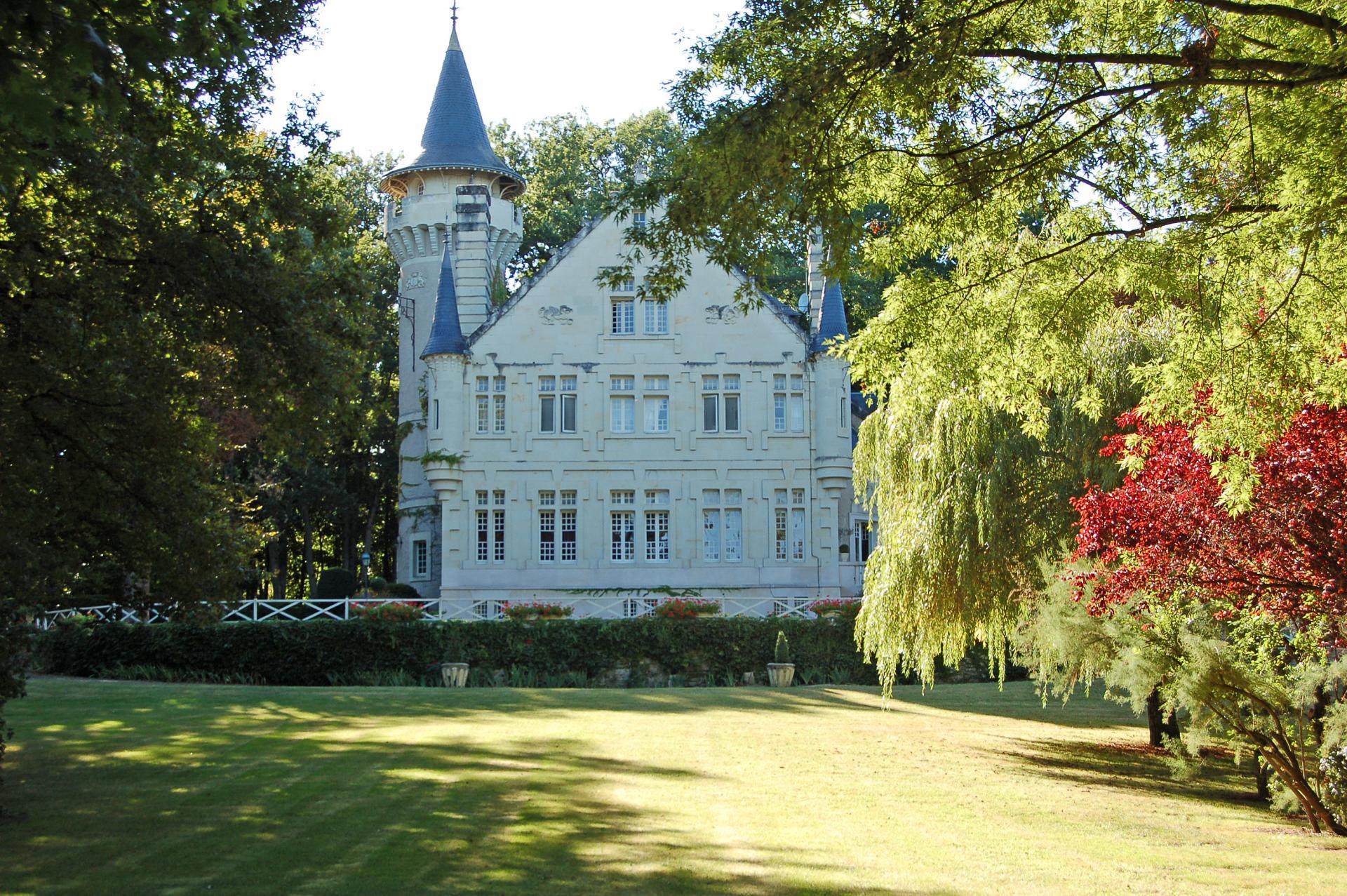 Villa Exterior 1, Chateau des Lutins, Lencloitre, Loire.