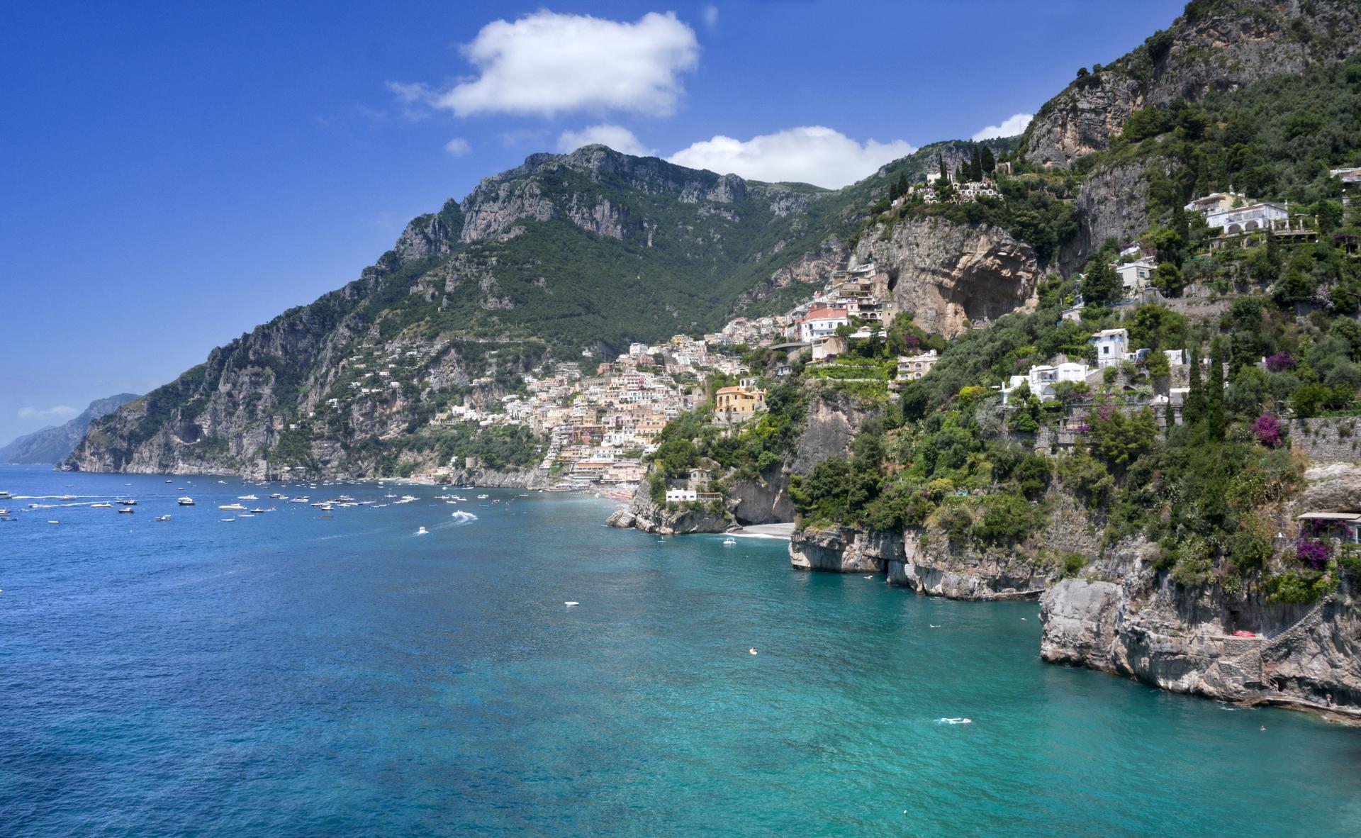 Villa Sea Views, La Divina, Positano, Amalfi Coast Campania.
