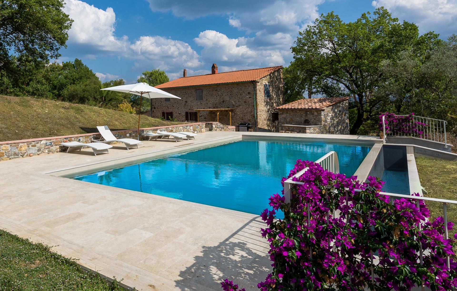 Outdoor Pool, I Cipressi, Suvereto, Tuscany.