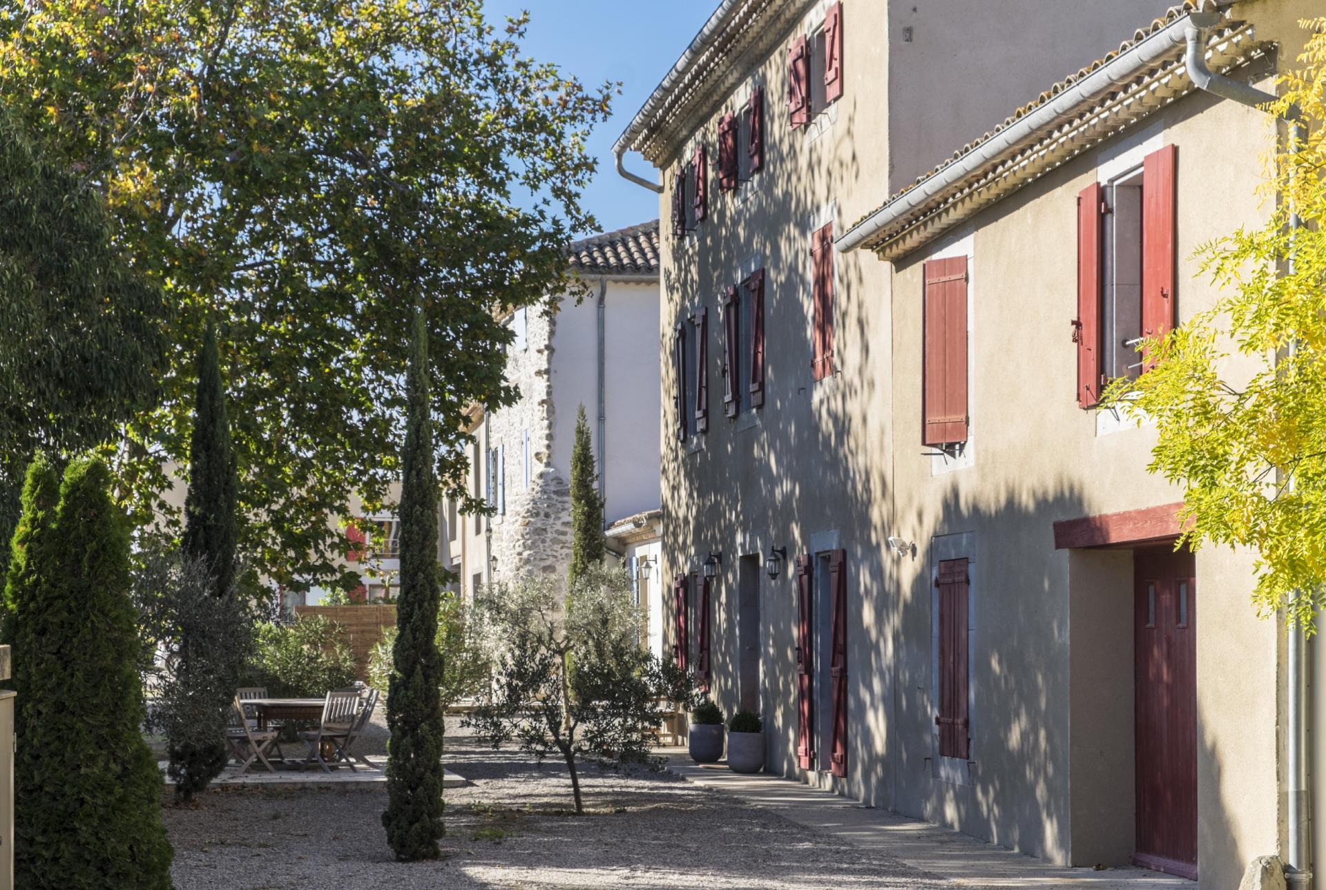 Villa exterior 1, Belles Vignes, Languedoc.