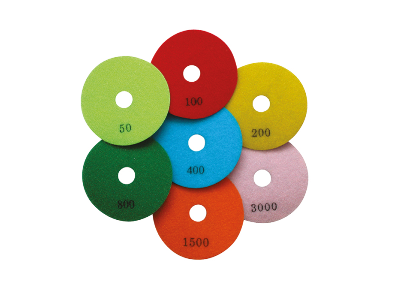 Dry Polishing Diamond Pads