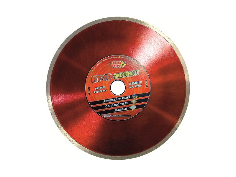 DART Red Ten RT-10 Smooth Cut Diamond Ceramic Blade