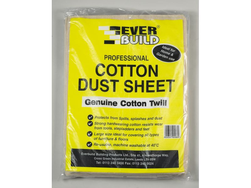 Cotton Dust Sheets