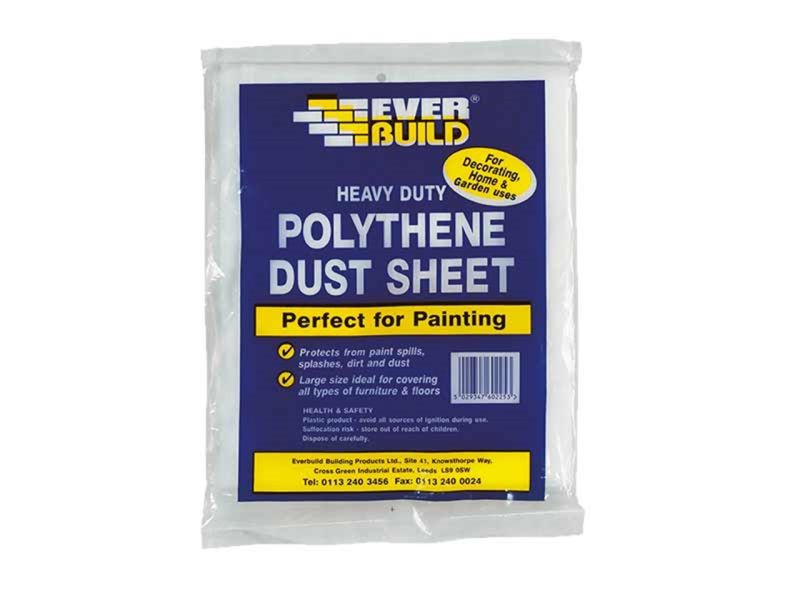 Polyethene Dust Sheets