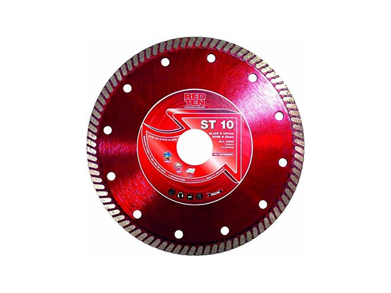 DART Red Ten ST-10 Super Thin Diamond Tile Blade