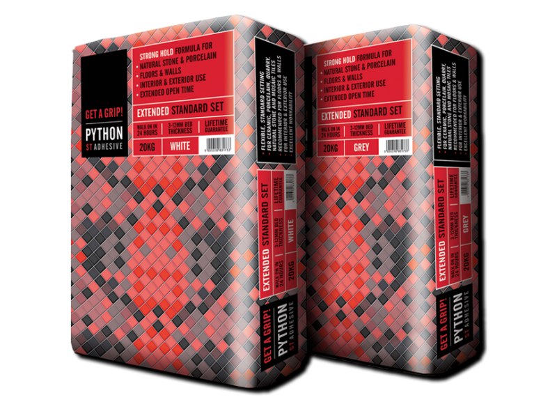 Python ST Tile Adhesive Flexible – Standard Set