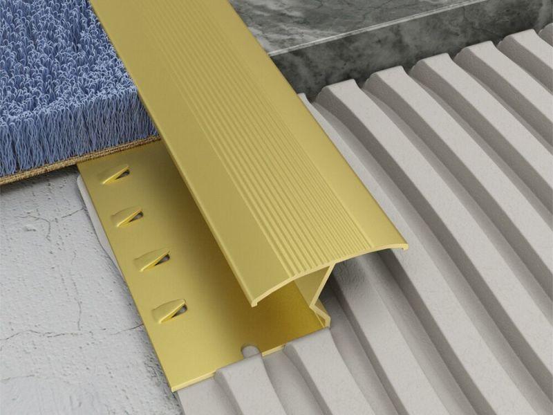 ZIG ZAG Carpet to Tile Strip