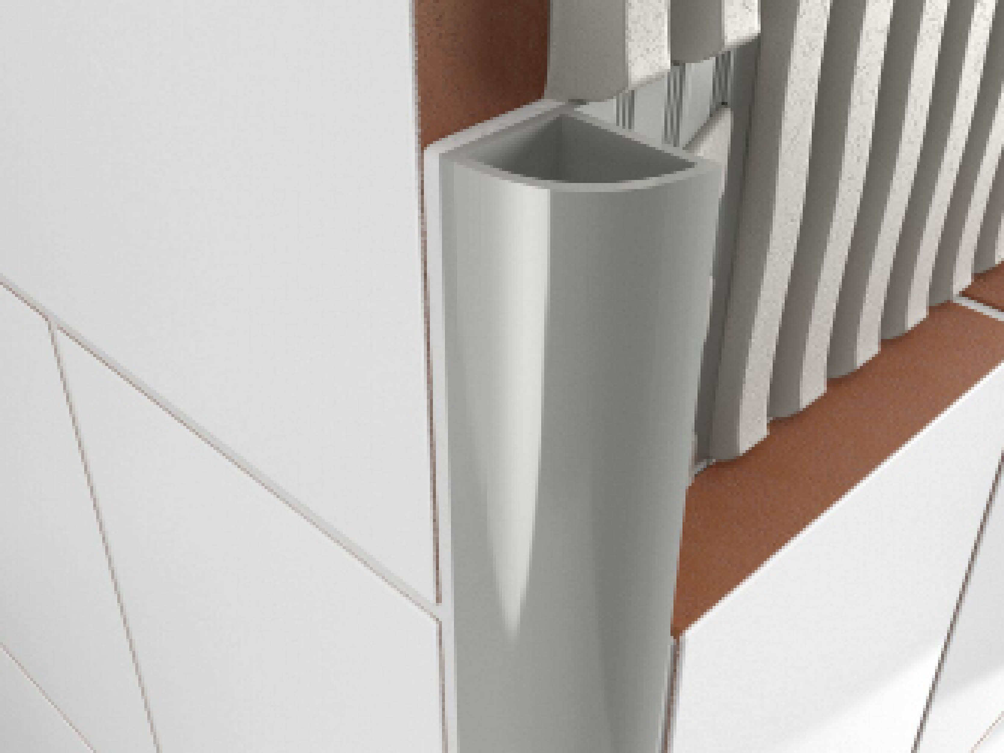 Atrim PVC Round Profile 2.5m