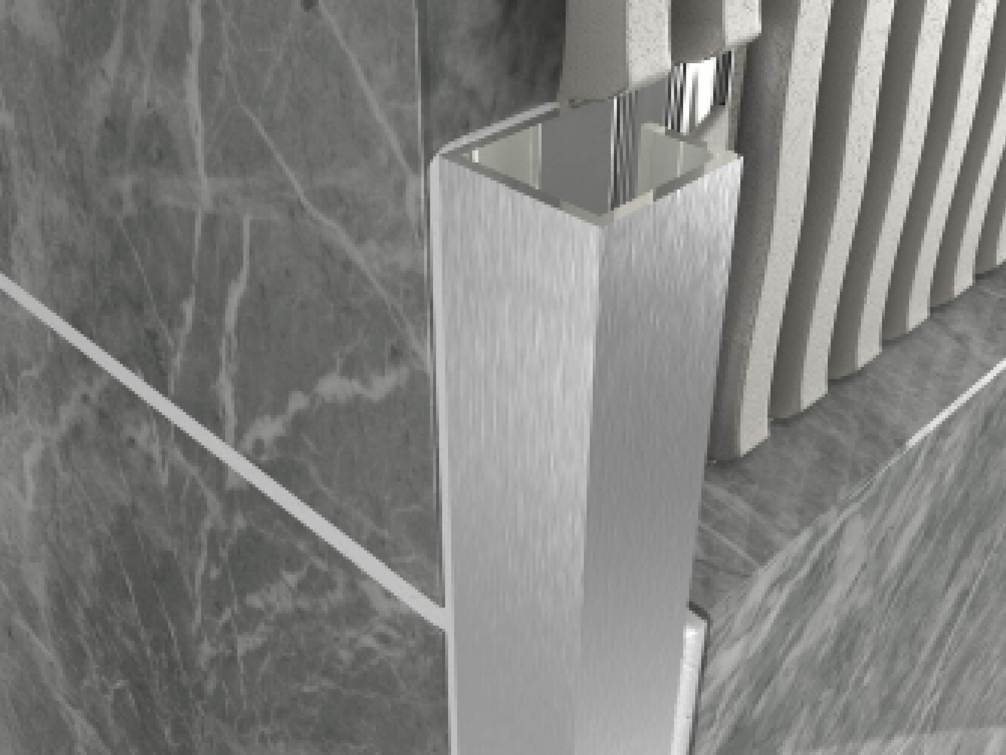 Atrim Metal Cubec Trim 2.5m