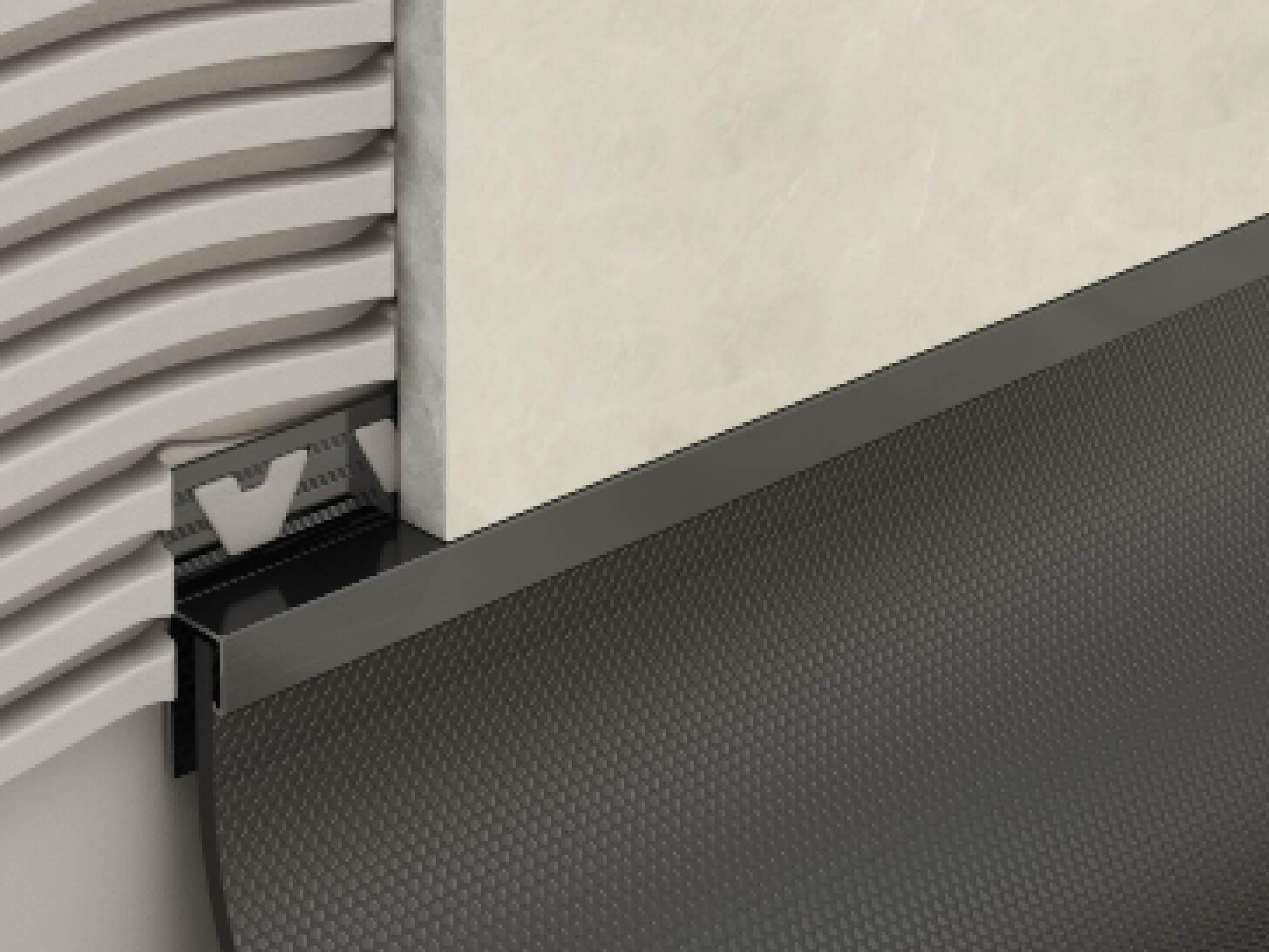 Atrim PVC Skirting Trim 2.5m