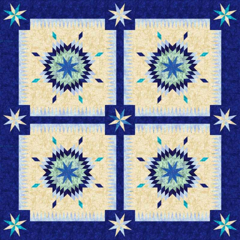 Southern Belles in Blank Quilting Corp. Fabrics