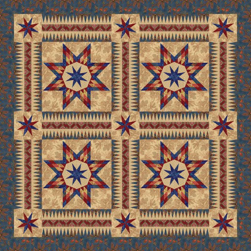 Southern Belles - Laundry Basket Quilt Fabrics