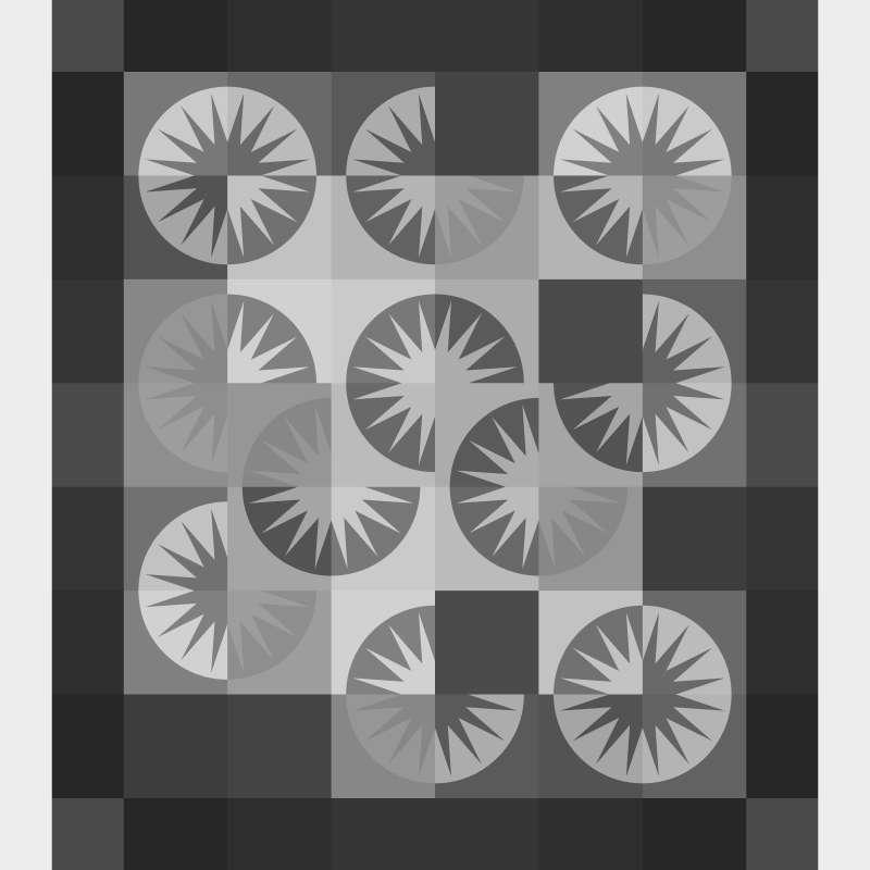 Desert Sky 48 x 54 Blank Template Pattern Cover