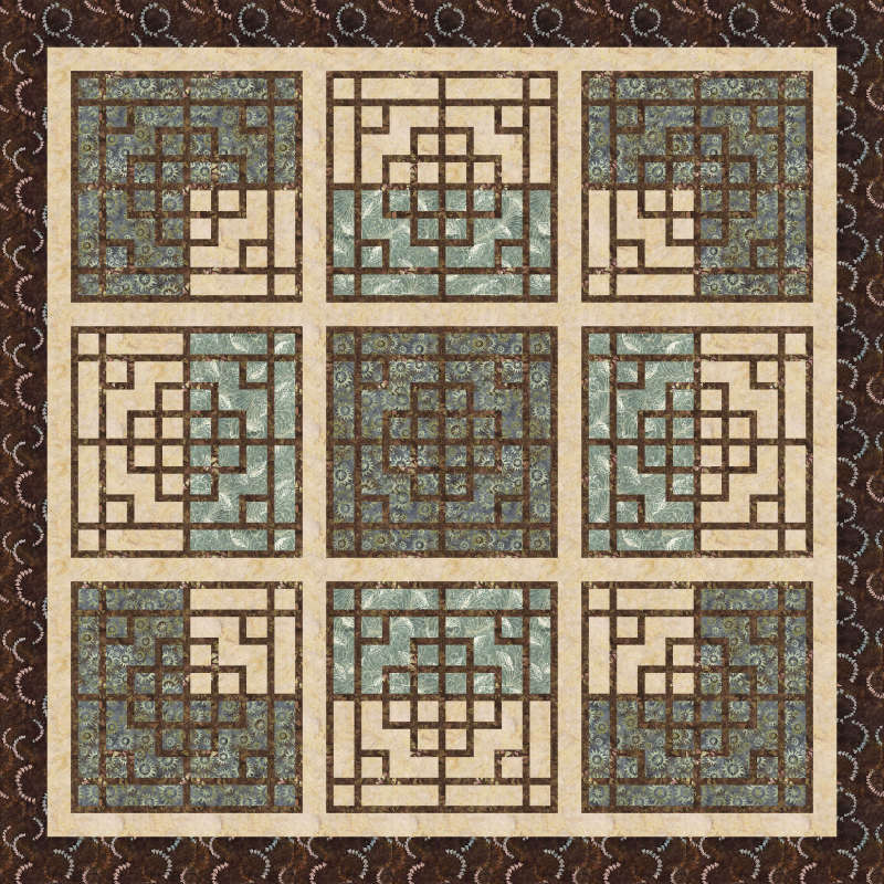 Chinese Lattice by Deb