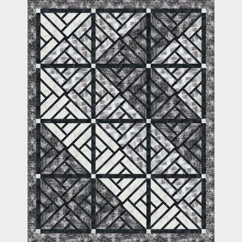 Quiltworx Stained Glass Window in Forever Collection