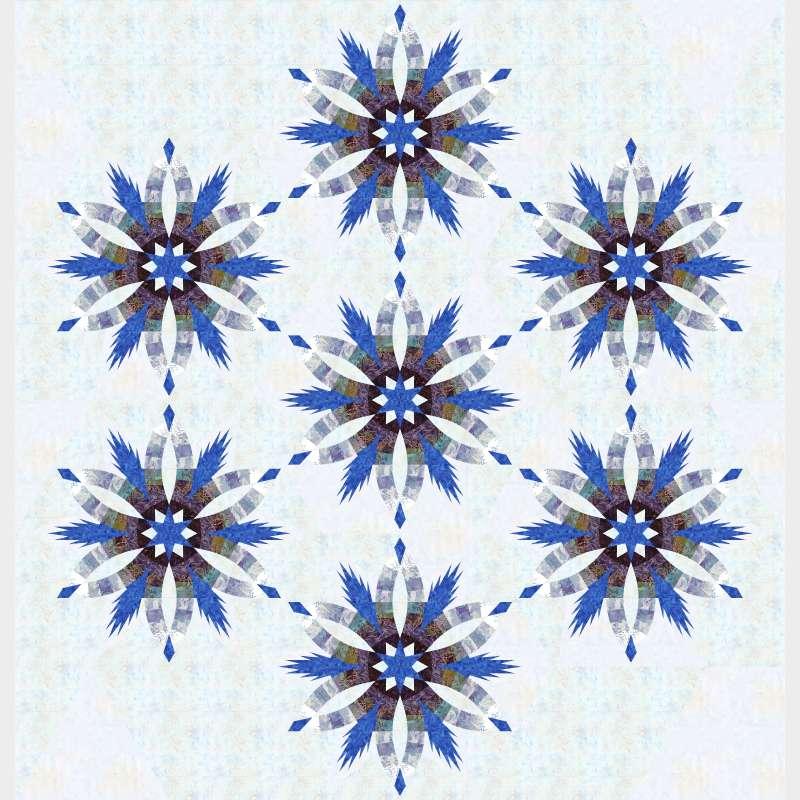 Diamond wedding star Blues