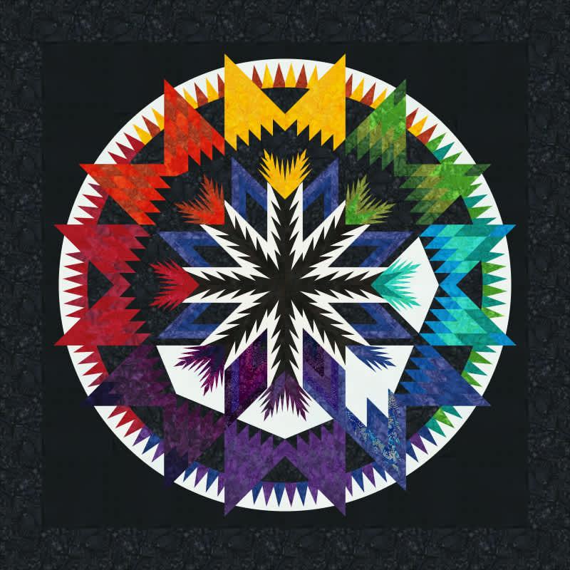 White Madeline Color Wheel