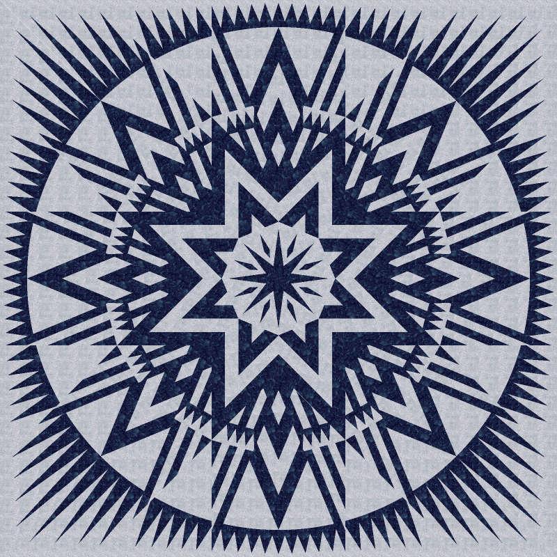 amz star blue gray