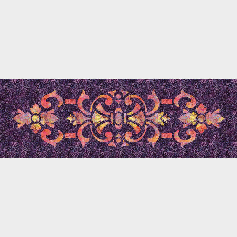 Marrakesh Table Runner Purple