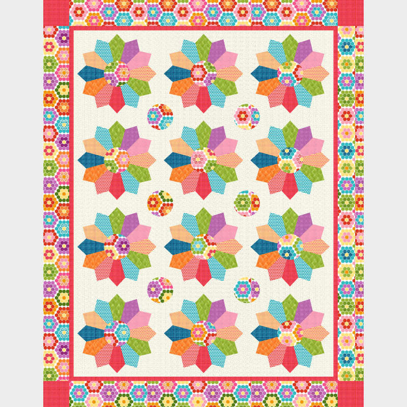 Cutie Tootie by Barbara Jones for Henry Glass Fabrics