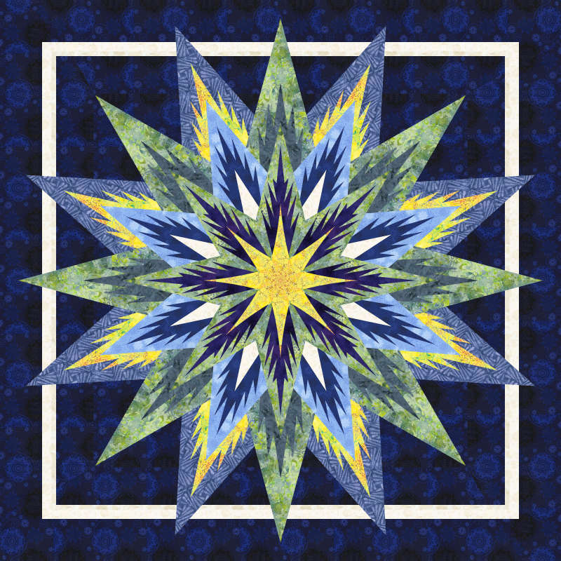 Feathered Star 2