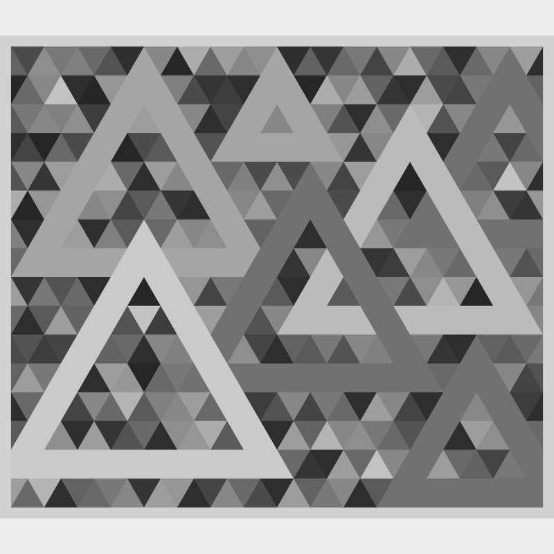 Triangularity Blank Template