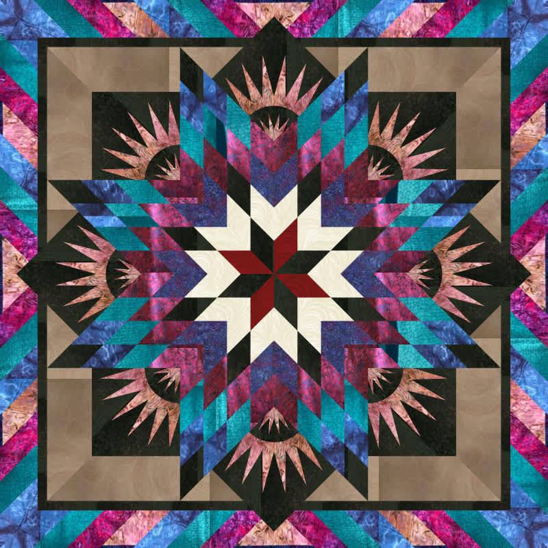 Joann retreat quilt