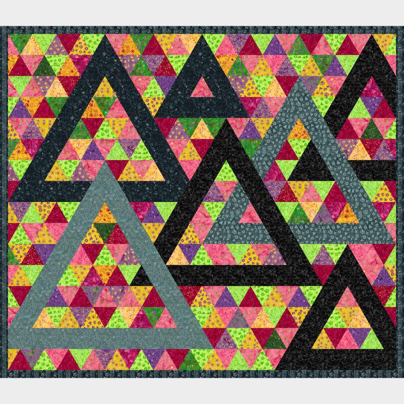 Triangularity in Feline Fine by Jackie Kunkel