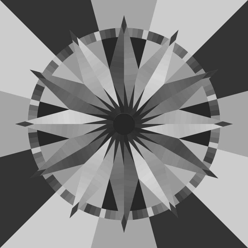 Sundial Blank Template 68 in x 68 in