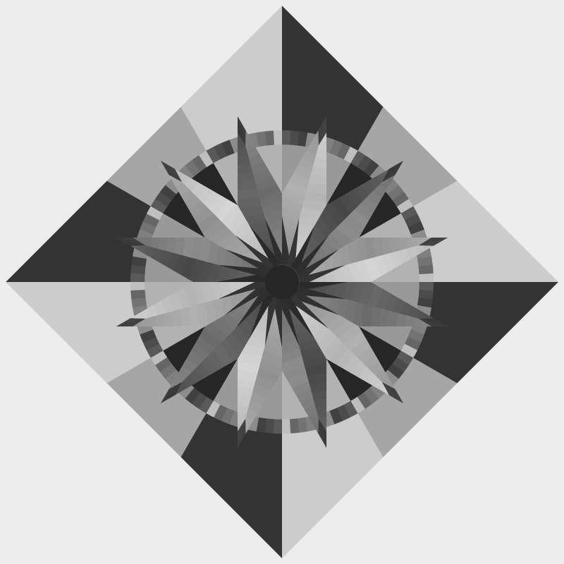 Sundial Queen Blank Template