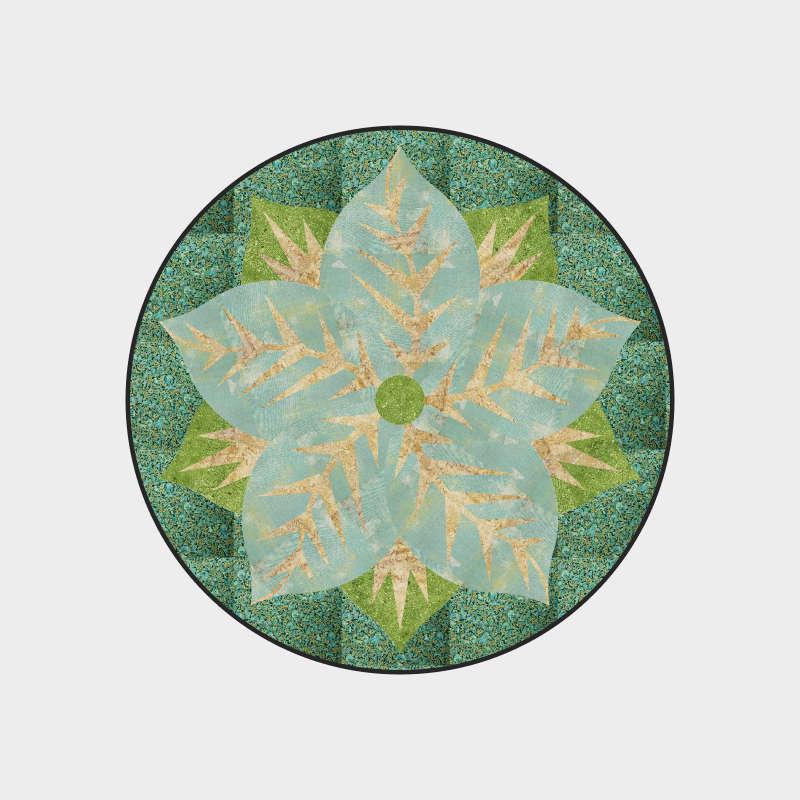 Spring pointsettia