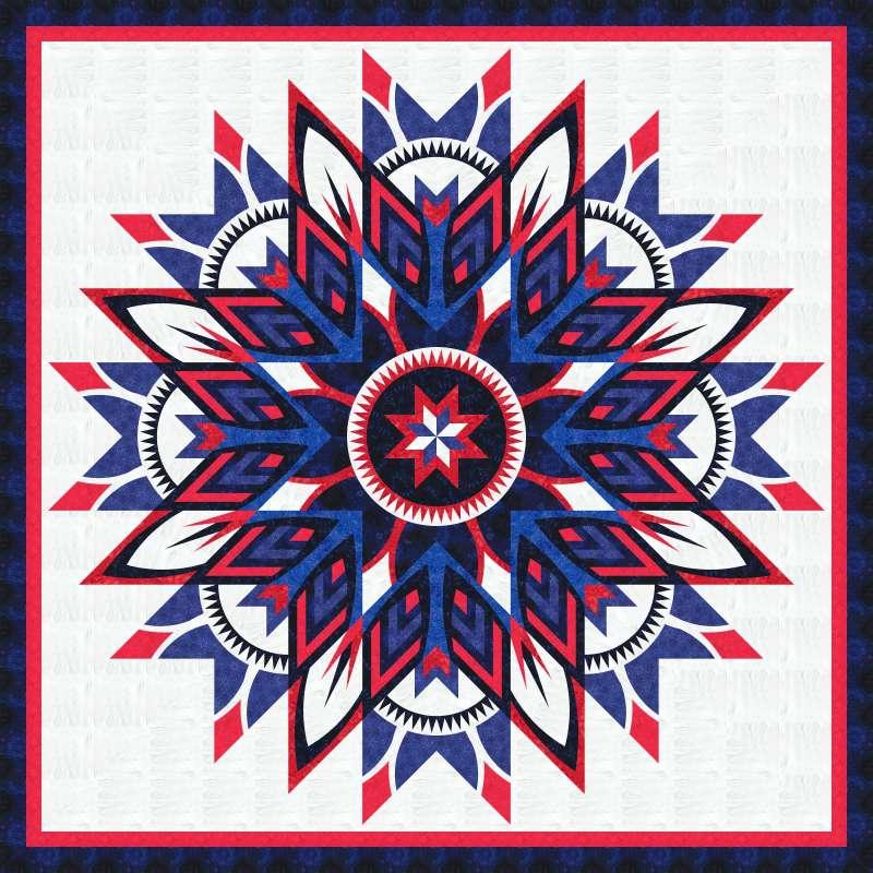 Amethyst Patriot Star