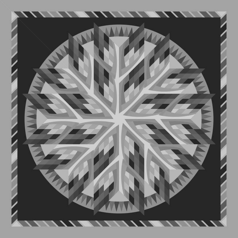Yogo Sapphire Blank Template 80 in x 80 in
