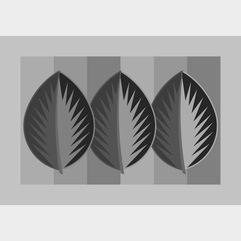 Three Quiltworx Leaf Series Blank Template