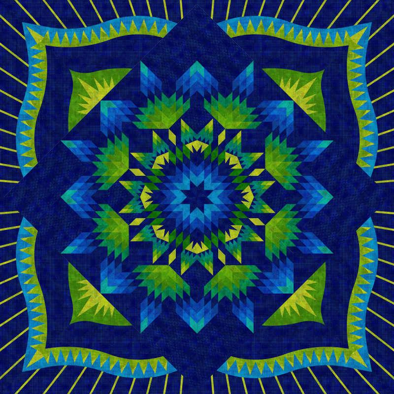 Starry Night Queen Dit Dot