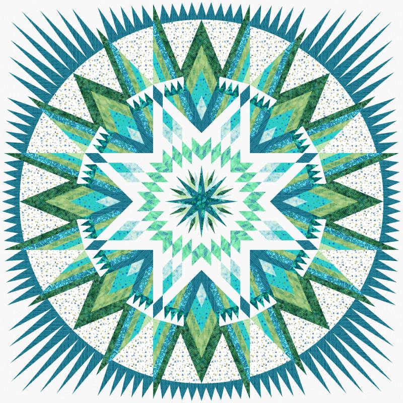 Sea Glass Amazon Star