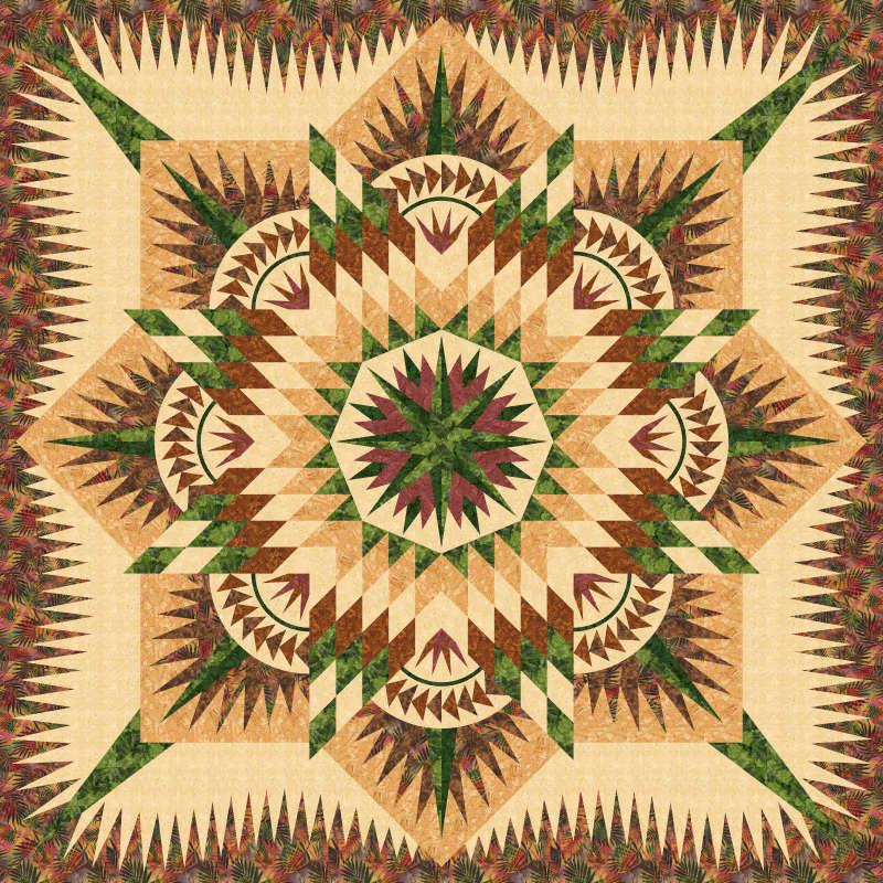 Chinook fabrics Prairie Star 4