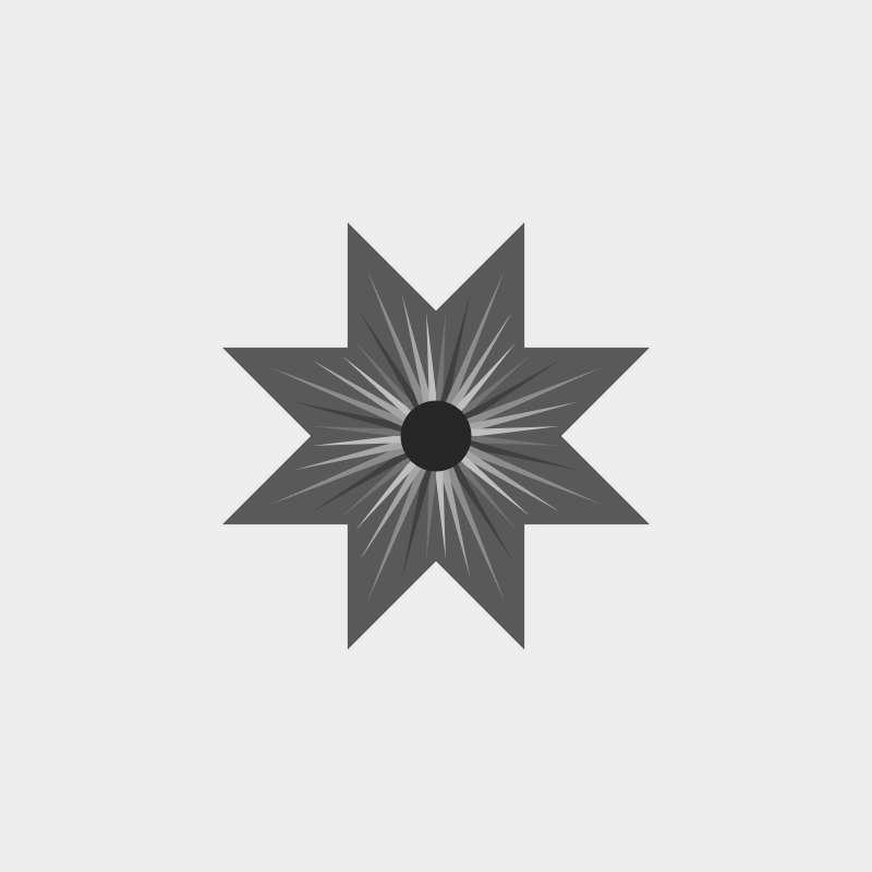Solstice Queen Blank Mixer Template